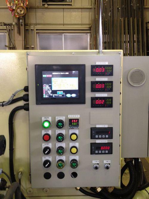油圧ユニットメーカー様操作盤