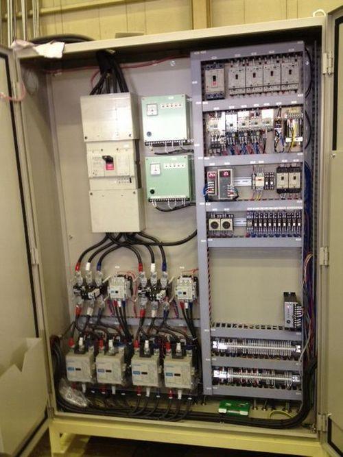 油圧ユニットメーカー様動力盤